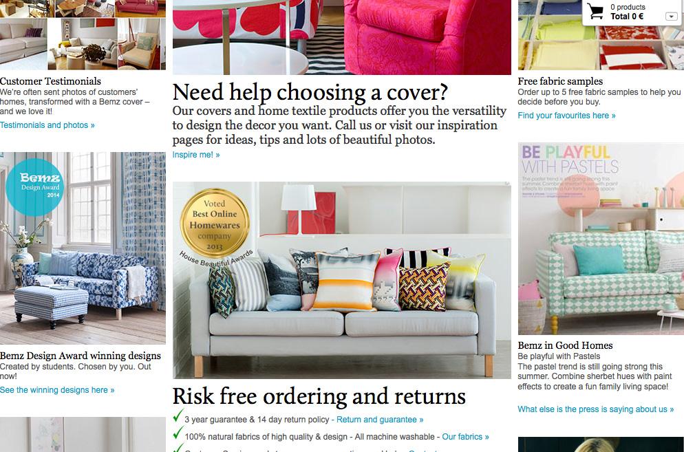 Vinkki: päällinen IKEA sohvaan | Secret Wardrobe