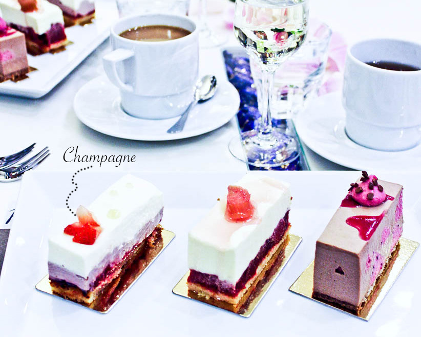 champagne cake 1