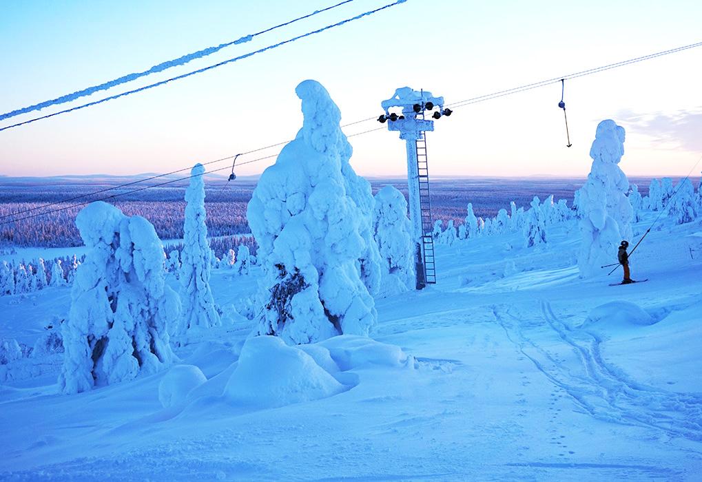 salla ski resort 02