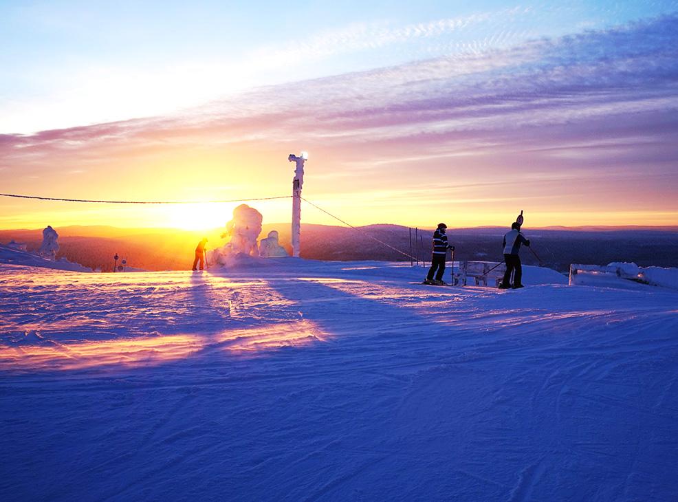 salla ski resort 03