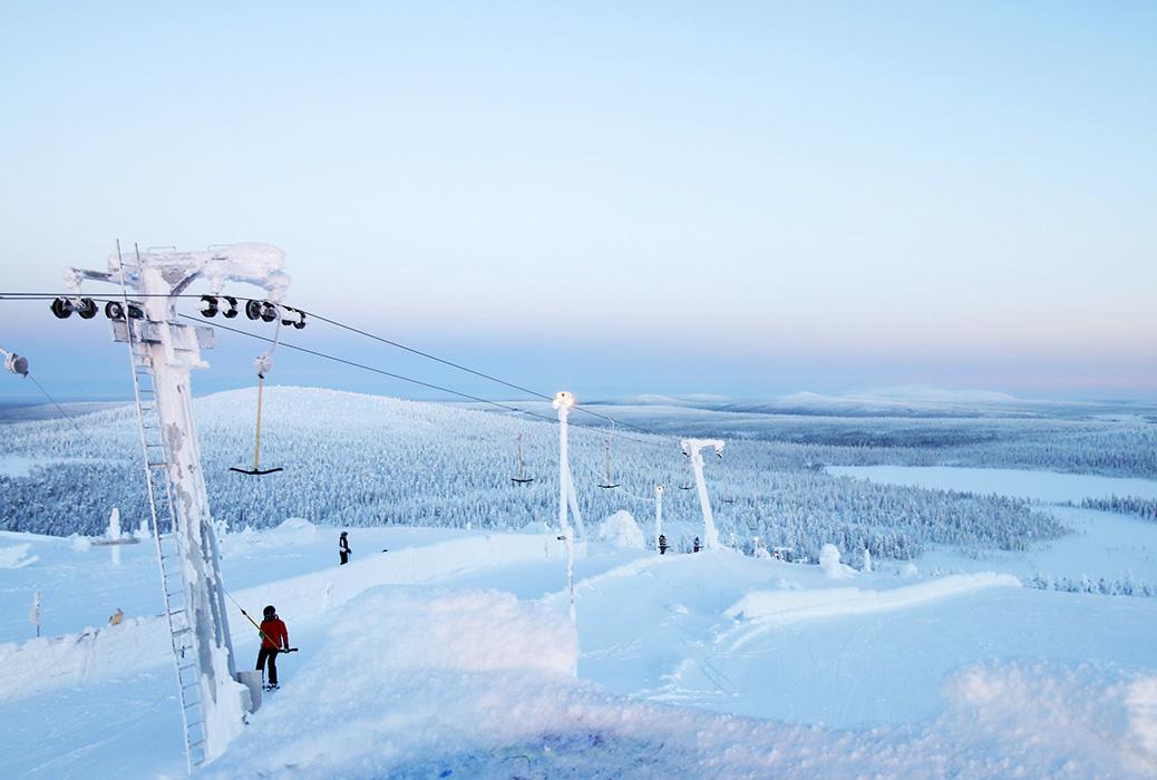 salla ski resort 04