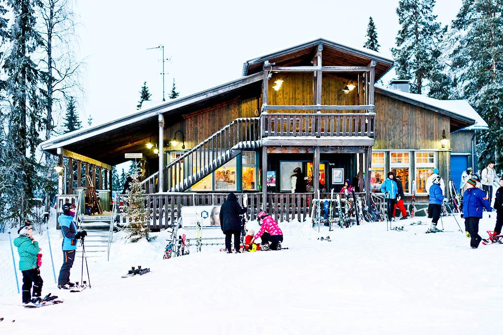 salla ski resort 14