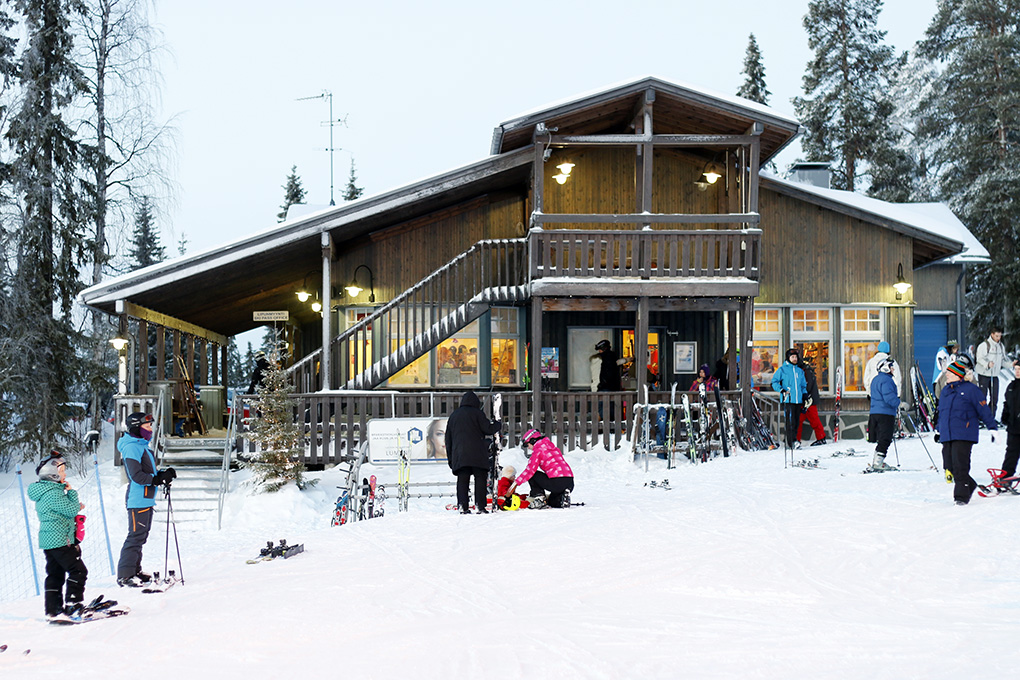 salla ski resort 14