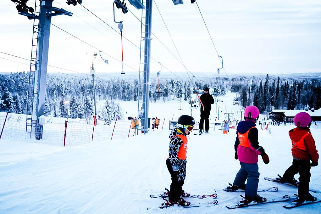 salla ski resort 17