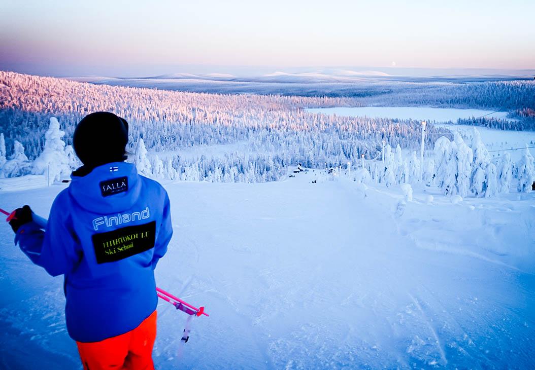salla ski resort 20