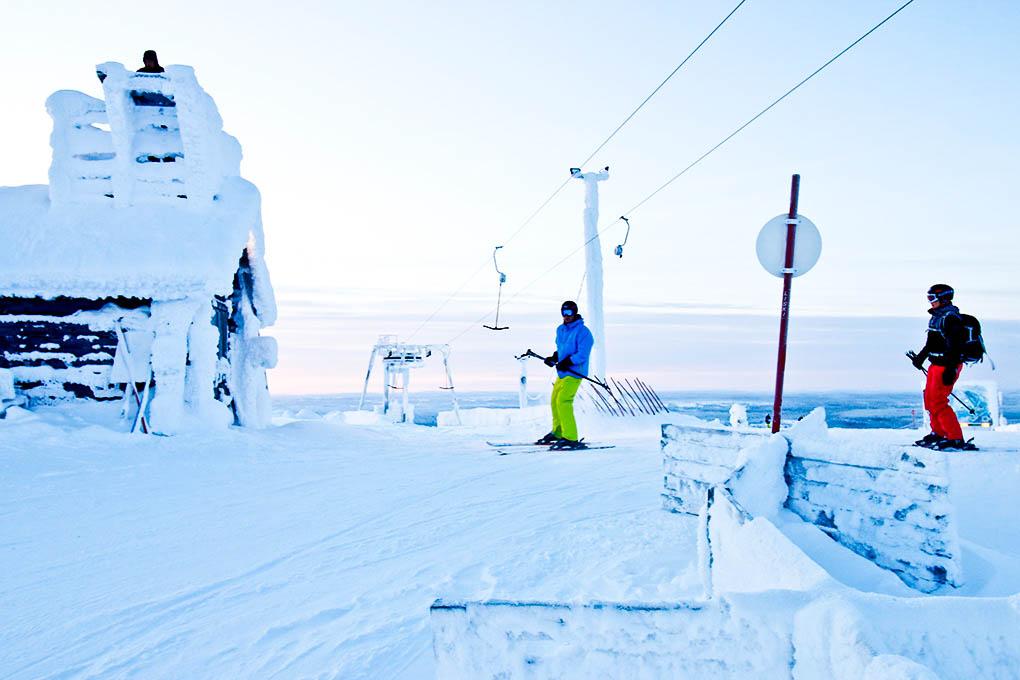 salla ski resort 6