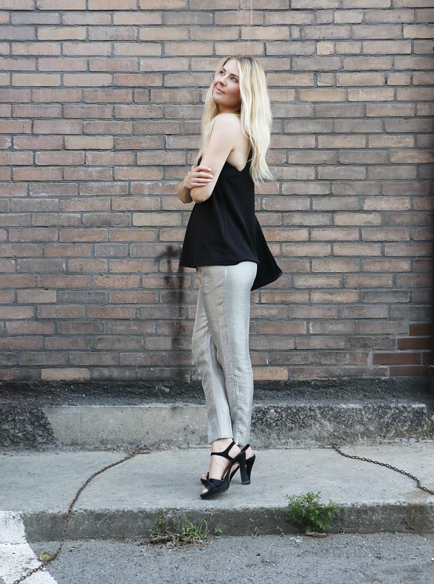 hopeiset housut 24