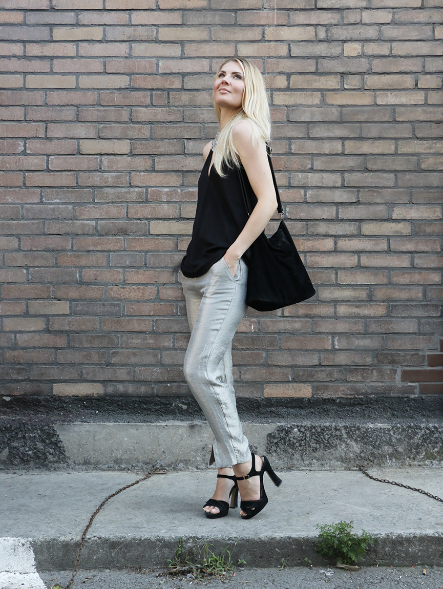 hopeiset housut 4