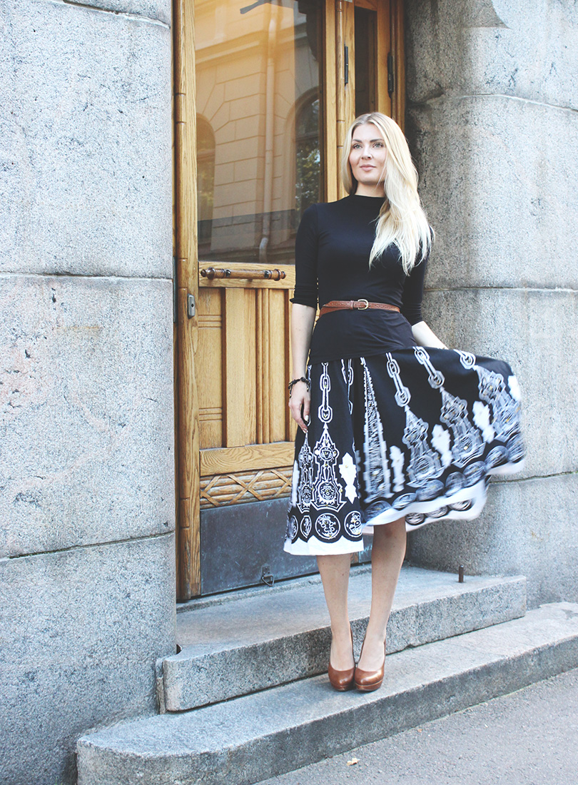 ethnic skirt 1