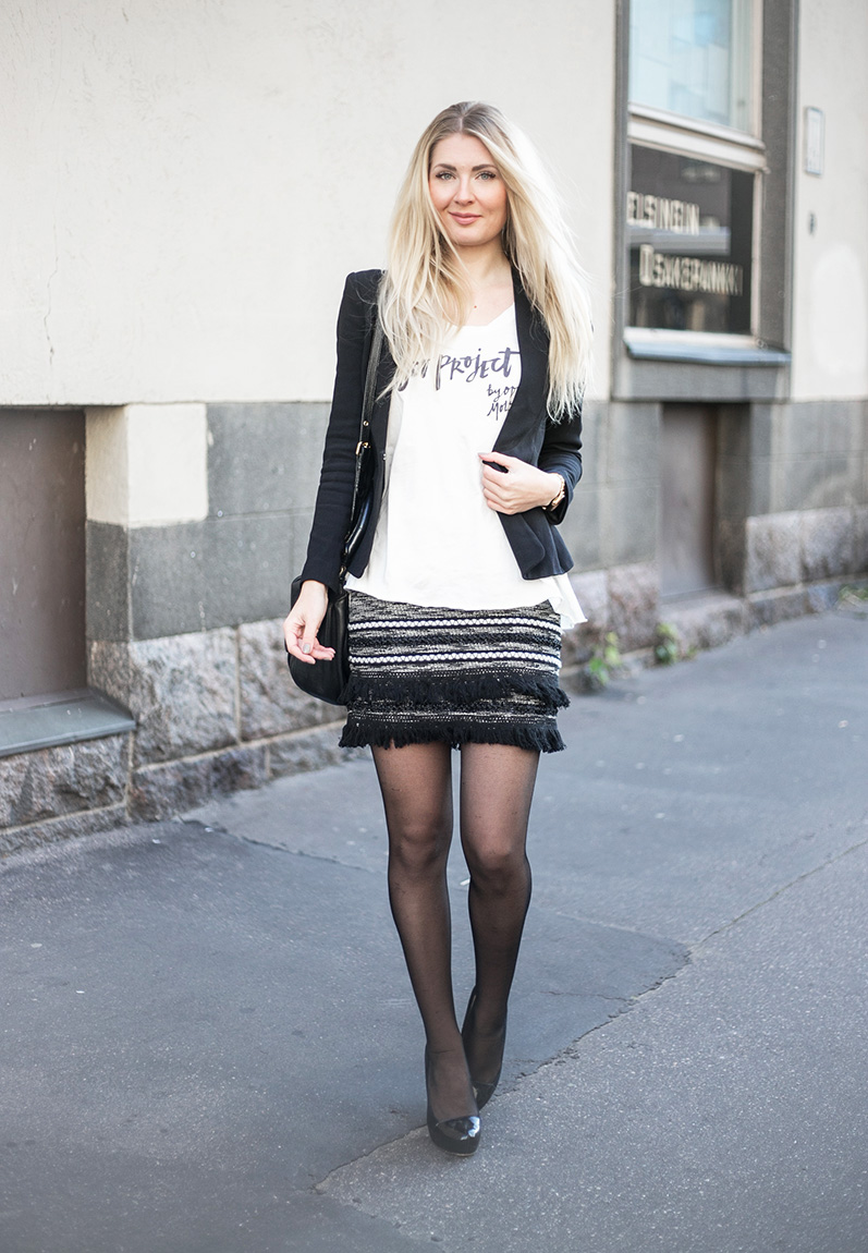 black and white outfit 01