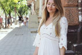 Valkoinen kesämekko Odessassa