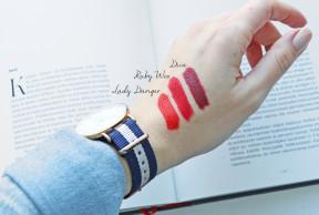 Täydelliset punaiset huulipunat