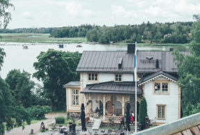 Gallen-Kallelan Museo ja viehättävä huvilakahvila